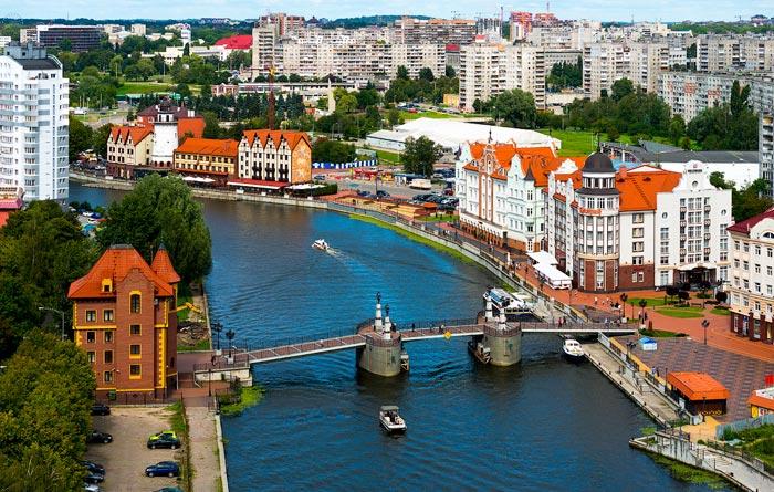 Путешествия в России: Калининград