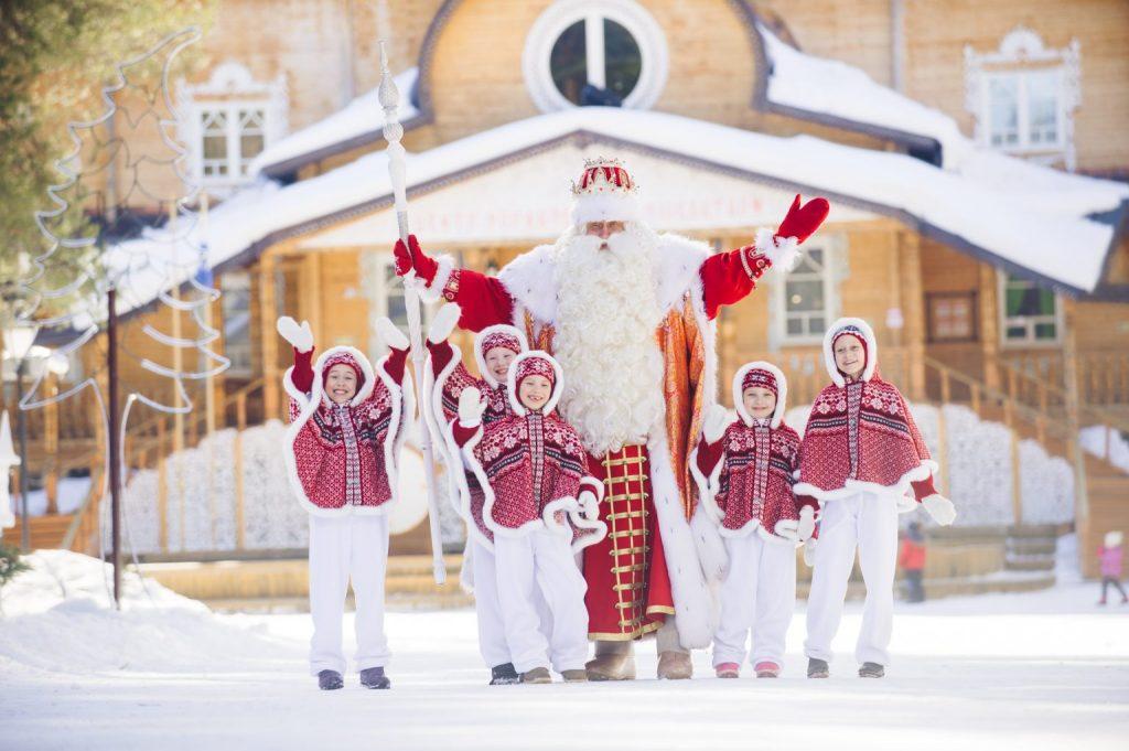 Отдых на родине Деда Мороза