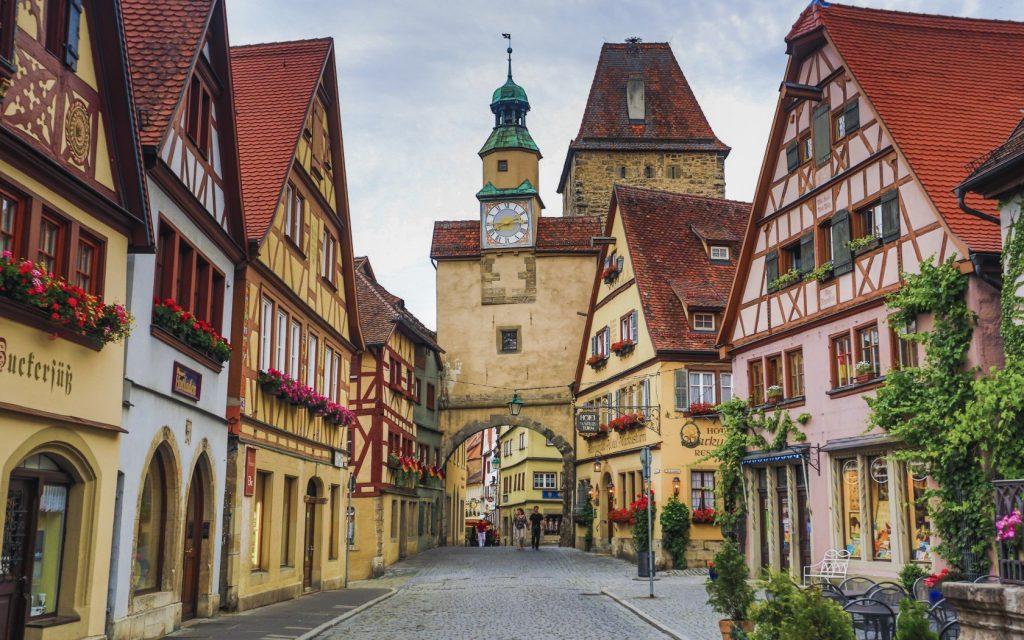 Самые популярные места в Германии