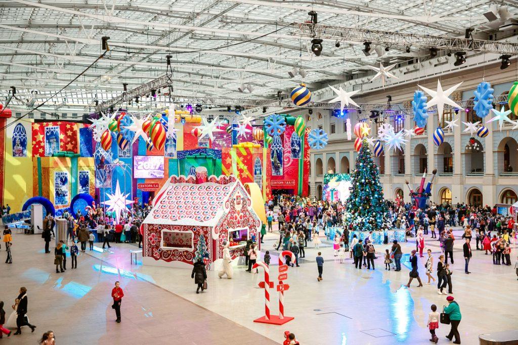 провести Новый Год в Москве с детьми