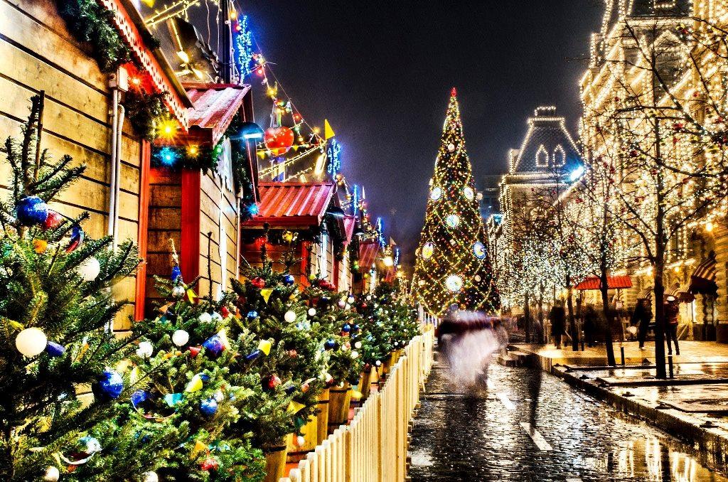 Отдых в новогодние каникулы в Москве и Питере