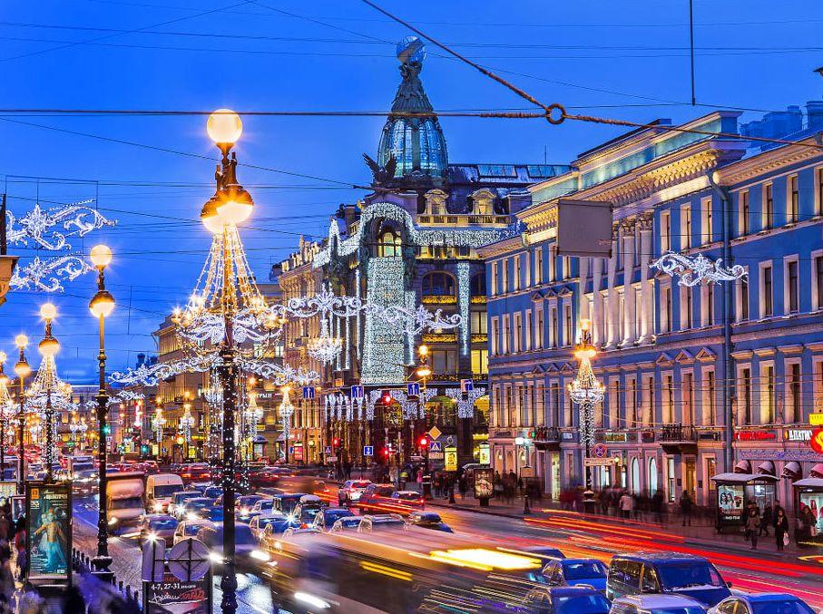 Что посмотреть в Петербурге зимой